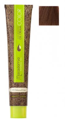 Краска для волос Macadamia Oil Cream Color 7.77 ЭКСТРА СРЕДНИЙ ШОКОЛАДНЫЙ БЛОНДИН 100мл: фото