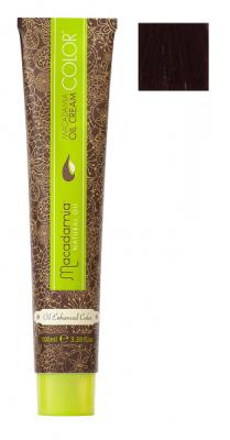 Краска для волос Macadamia Oil Cream Color 7.55 ЯРКИЙ КРАСНОЕ ДЕРЕВО СРЕДНИЙ БЛОНДИН 100мл: фото