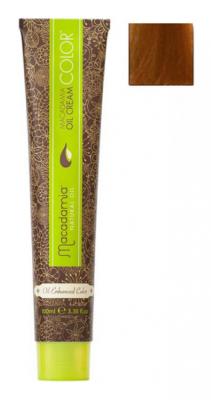 Краска для волос Macadamia Oil Cream Color 8.34 СВЕТЛЫЙ МЕДНО ЗОЛОТИСТЫЙ БЛОНДИН 100мл: фото