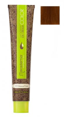 Краска для волос Macadamia Oil Cream Color 7.34 СРЕДНЕ ЗОЛОТИСТЫЙ МЕДНЫЙ БЛОНДИН 100мл: фото