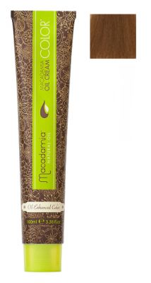 Краска для волос Macadamia Oil Cream Color 7.3 СРЕДНИЙ ЗОЛОТИСТЫЙ БЛОНДИН 100мл: фото