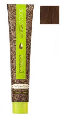 Краска для волос Macadamia Oil Cream Color 6.3 ТЕМНЫЙ ЗОЛОТИСТЫЙ БЛОНДИН 100мл: фото