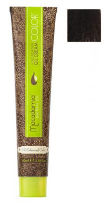 Краска для волос Macadamia Oil Cream Color 2 КОРИЧНЕВЫЙ 100мл: фото