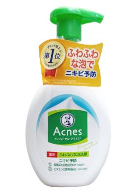 Пенка для умывания против акне MENTHOLATUM Acnes Foaming Wash 160 мл: фото