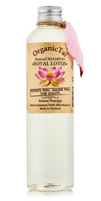 Натуральный шампунь для волос с маслом королевского лотоса OrganicTai Natural Shampoo Royal Lotus 260 мл: фото